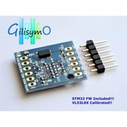 Gilisymo Time of Flight proximity sensor